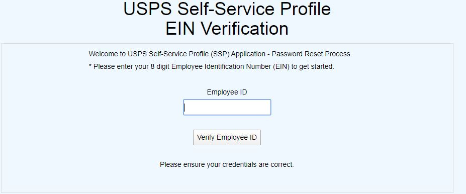 Liteblue USPS Gov Login forgot password step 2