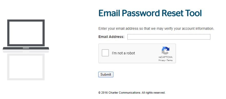 Roadrunner Webmail Account Forgot Email Password step 3