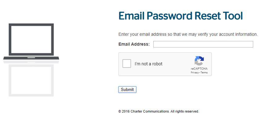 Roadrunner Webmail Account Forgot Email Password step 3