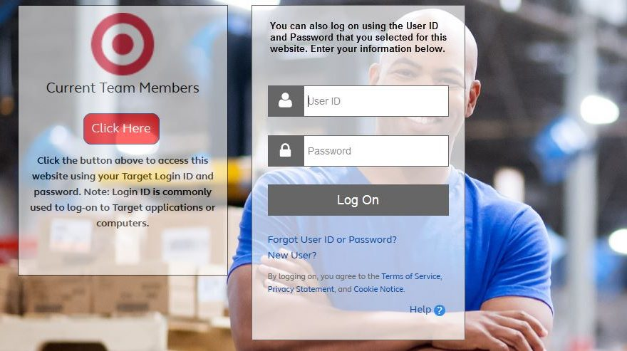 Target Pay & Benefits  login