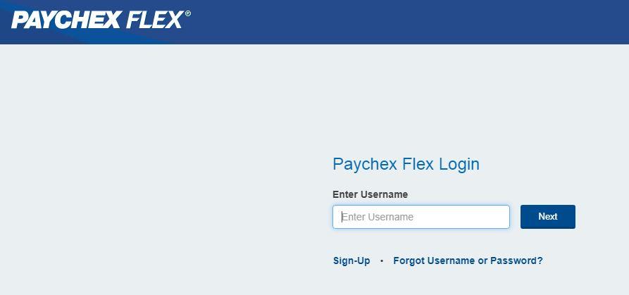Paychex Flex Login step 3