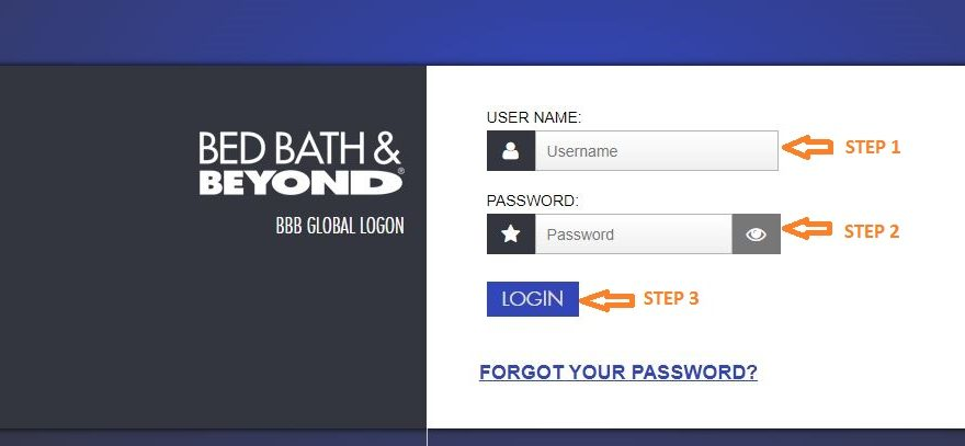 Myhr Bed Bath and Beyond Login